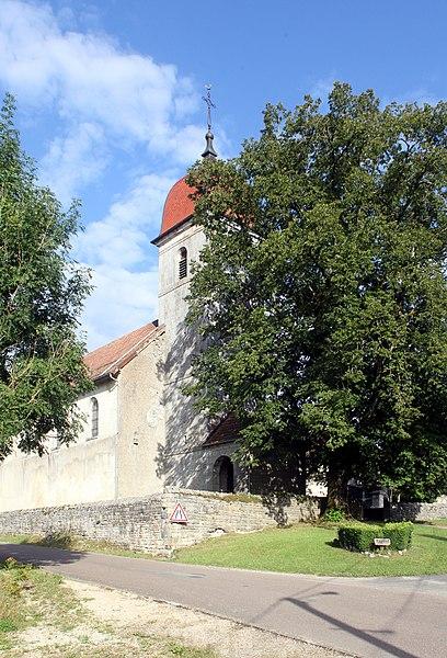 Église de Trépot (Doubs).