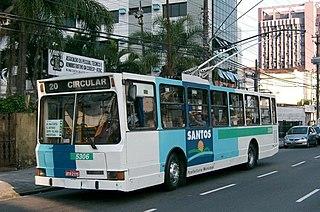 Trolleybuses in Santos