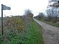 Track and footpath to Home Farm - geograph.org.uk - 1047344.jpg