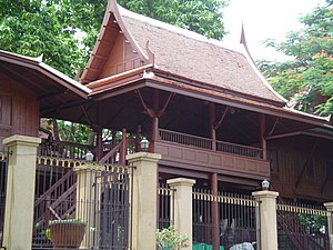 Traditional Thai house - Image: Traditional Thai house