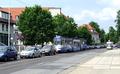 Traffic jam on Thiemstraße (looking north).png
