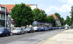 Traffic jam on Thiemstraße (looking north).png