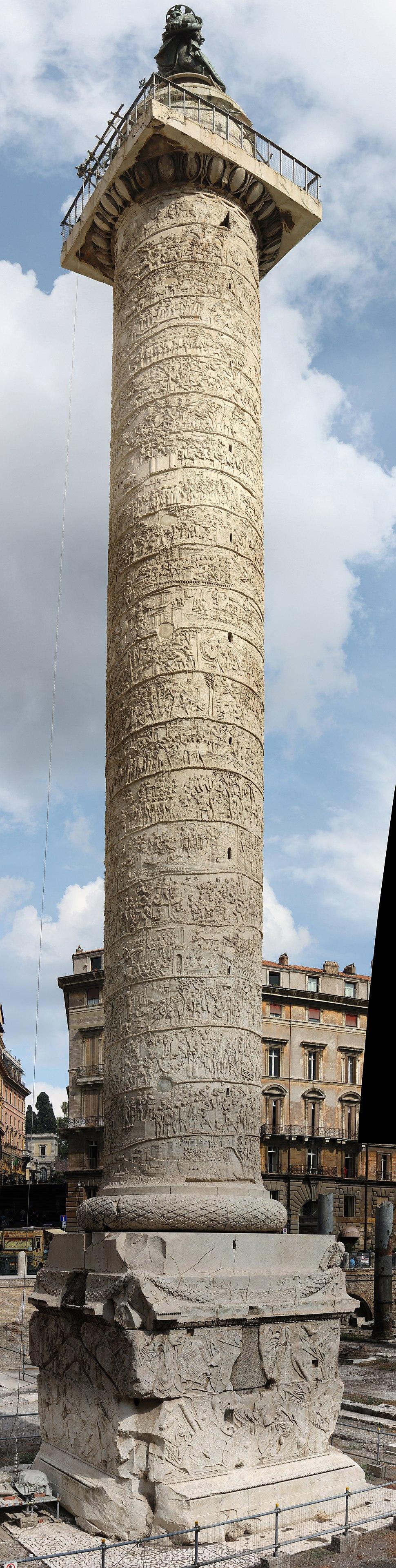 Trajan's Column Panorama.jpeg