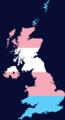 Transgender Pride Flag map of the United Kingdom.png