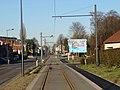 Travaux de la branche vers Vieux-Condé de la ligne B du tramway de Valenciennes en décembre 2013 (278).JPG