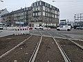 Travaux tram Strasbourg-Koenigshoffen (2019), interstation Porte blanche - Faubourg national 02.jpg