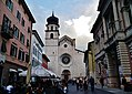 Trento Cattedrale San Vigilio Vescovo Fassade 1.jpg