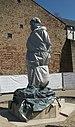 Trier Karl Marx Statue covered.jpg