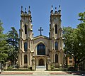 Trinity Episcopal Cathedral in Columbia, the capital city of South Carolina It is the first Episcopal, and the oldest surviving, sanctuary in Columbia.jpg