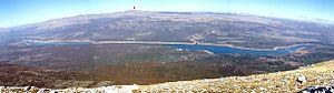 Peruća Lake - Image: Troglav Peruca