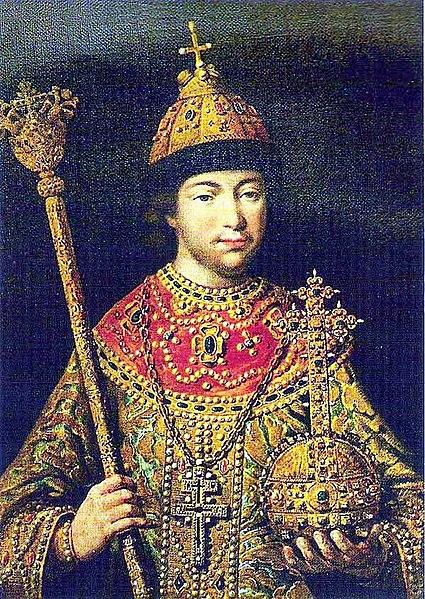 File:Tsar Mikhail I -cropped.JPG