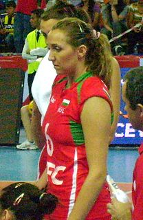 Tsvetelina Zarkova Bulgarian volleyball player