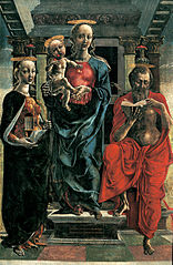 Madonna and Child with St. Mary Magdelene and St. Jerome