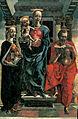 Tura, Cosmè-Vierge à l'enfant et deux saints-Ajaccio, musée Fesch.jpg