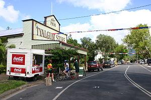 Tyalgum, New South Wales - Australia Day, Coolman Street, Tyalgum