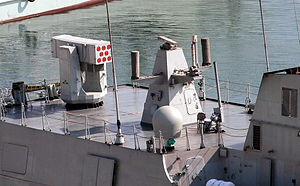 Type 056 corvette - FL-3000N SAM launcher
