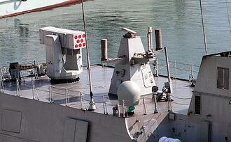 Type 056 corvette - FL-3000N SAM launcher