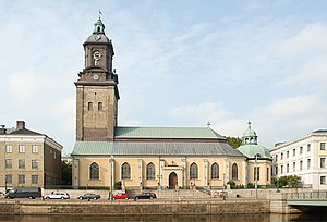 German Church, Gothenburg - Image: Tyska kyrkan Göteborg september 2010
