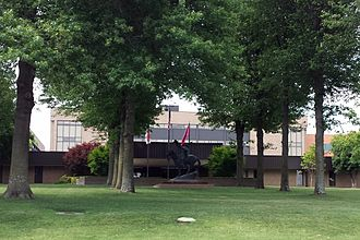 Tyson Foods - World headquarters of Tyson Foods at 2200 Don Tyson Pkwy, Springdale, Arkansas