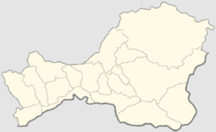Shagonar is located in Tuva Republic