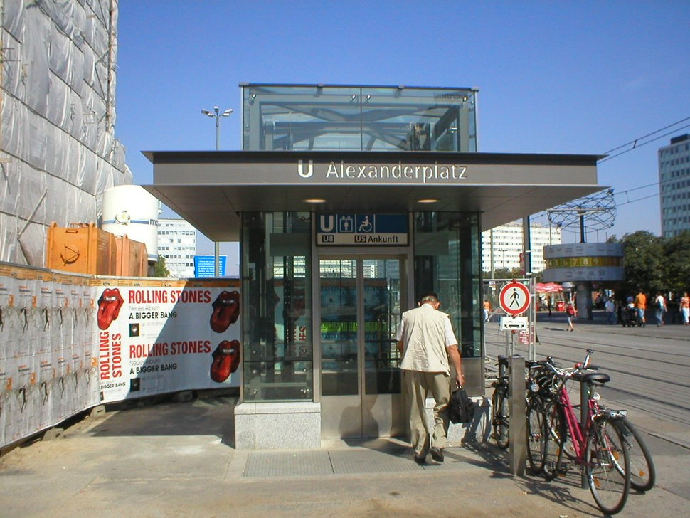 U-Bahn Berlin Alexanderplatz Elevator