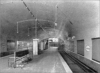 Märkisches Museum (Berlin U-Bahn) - Inselbrücke station, 1913