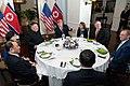U.S.-DPRK delegation having dinner during Hanoi Summit.jpg