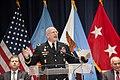 U.S. Army Maj. Gen. Gregg F. Martin, president of the National Defense University, speaks during the university's graduation ceremony on Fort Lesley J. McNair, D.C., June 13, 2013 130613-D-HU462-067.jpg