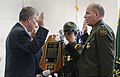 U.S. Customs and Border Protection Commissioner R. Gil Kerlikowske (left) swears-in newly appointed Chief of U.S. Border Patrol Mark Morgan (right), October 11, 2016.jpg