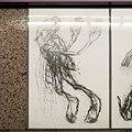 U2 Museumsquartier Kunst Bahnsteig 1 Zeichnung 01 Der Sterbende.jpg