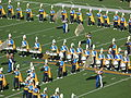 UCLA Band performing at halftime at UCLA at Cal 10-25-08 2.JPG