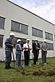 USACE, EUCOM break ground on first of 10 fire station renovations in Latvia (4786389507).jpg