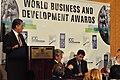 USAID Administrator Dr. Rajiv Shah and World Business and Development Awards (5012770945).jpg
