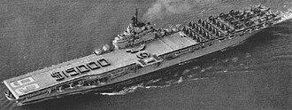 USS Antietam (CV-36) - Antietam returning from Korea in March 1952