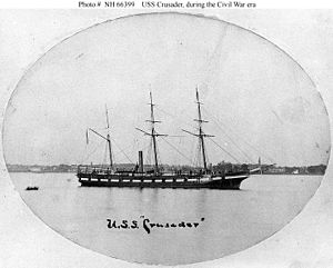 USS Crusader (1858) - Image: USS Crusader (1858)
