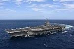 USS Harry S. Truman (CVN-75) underway in the Atlantic Ocean on 11 September 2018 (180911-N-EA818-2106).JPG