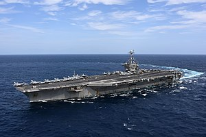 USS Harry S. Truman (CVN-75) underway in the Atlantic Ocean on 11 September 2018 (180911-N-EA818-2106).JPG