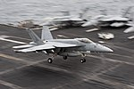 USS Harry S. Truman conducts flight operations. (26708830161).jpg