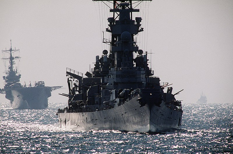 Ficheiro:USS Wisconsin in Operation Earnest Will DN-ST-93-00917.jpg