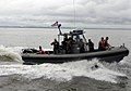 US Navy 100629-N-9643W-577 U.S. and El Salvadorian sailors ride in a U.S. Navy rigid-hull inflatable boat.jpg