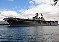 US Navy 100706-N-6854D-227 USS Bonhomme Richard (LHD 6) departs Joint Base Pearl Harbor-Hickam to support Rim of the Pacific (RIMPAC) 2010 exercises.jpg