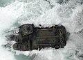 US Navy 100707-N-8283S-179 An amphibious assault vehicle (AAV) launches from the well deck of the amphibious assault ship USS Boxer (LHD 4).jpg