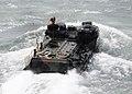 US Navy 100928-N-7508R-165 An amphibious assault vehicle the well deck of USS Bataan (LHD 5).jpg