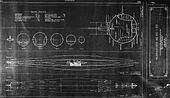 Plans for the F-Class submarines of the US Navy.