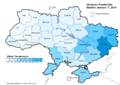 Ukraine Presidential Jan 2010 Vote (Yanukovych)a.png