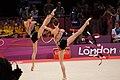 Ukraine Rhythmic gymnastics at the 2012 Summer Olympics (7916222548).jpg