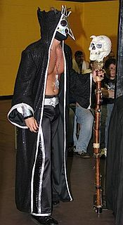 UltraMantis Black American professional wrestler
