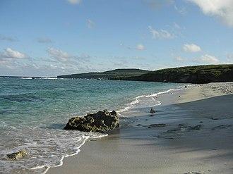 Tinian - Tinian beach