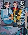 Underground v naší hospodě, 1994, olej na plátně 110x95 cm.jpg