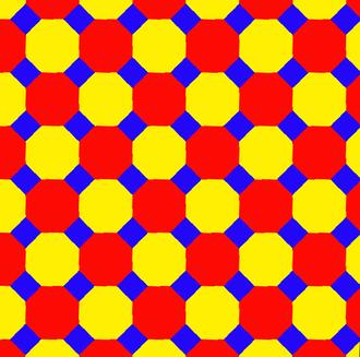 Truncated square tiling - Image: Uniform tiling 44 t 012